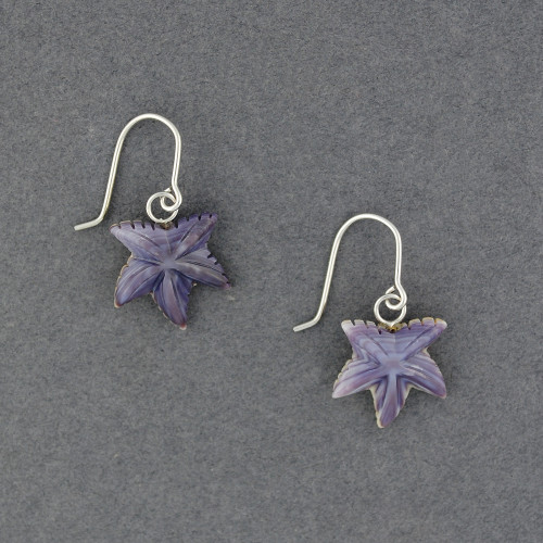 Wampum Starfish Earrings