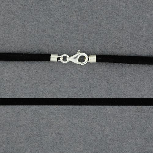 Black Suede Cord