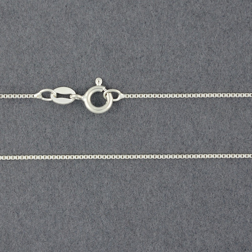 Sterling Silver Light Box Chain