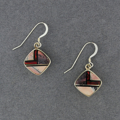Sterling Silver Sunset Canyon Earrings
