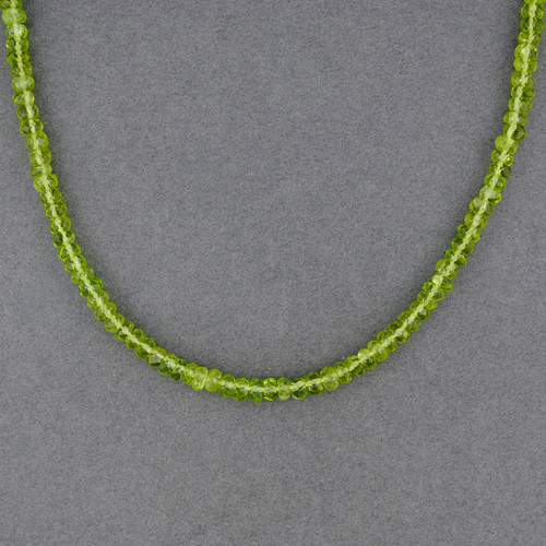 Peridot Beaded Necklace