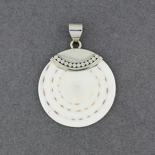 Cone Shell Dotted Pendant
