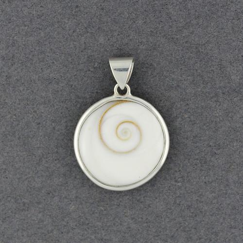 Shiva's Eye Plain Bezel Pendant