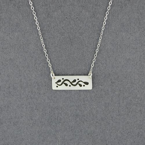 Vine Bar  Necklace