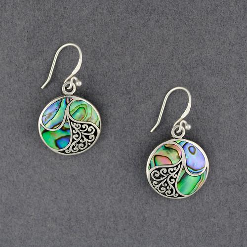 Abalone Swirls Earrings