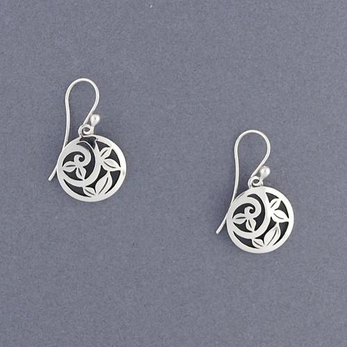 Circle Vine Earrings