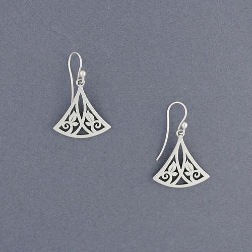 Triangle Vine Earrings