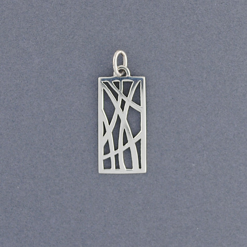 Abstract Lines Pendant
