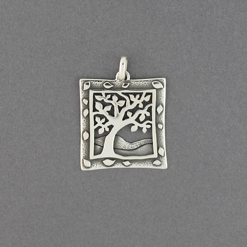 Detailed Tree of Life Pendant