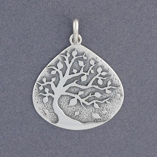 Teardrop Tree Pendant