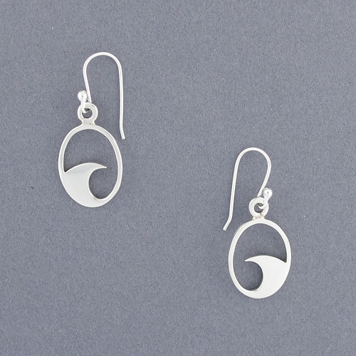 Exclusive Rhode Island Wave Earrings