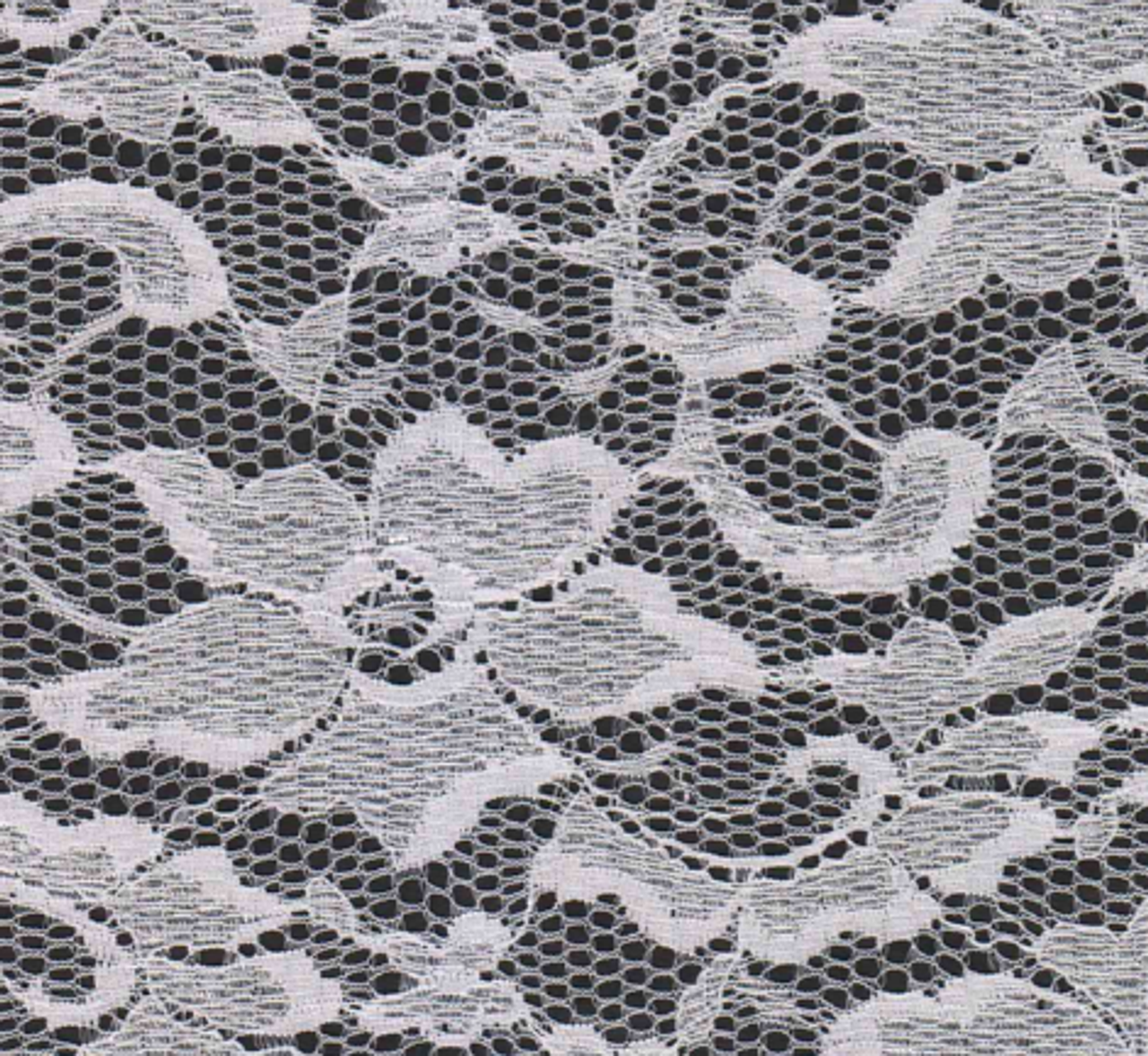 Floral Knits Lace Fabric Lace 60 White Fabrics By The Yard