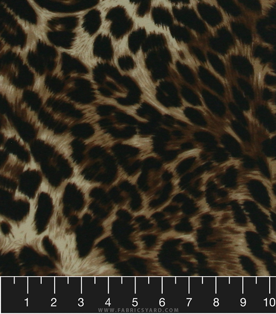 1d38195c81 Animal Print Knit Liverpool Fabric - Liverpool A045 Brown - Fabrics ...