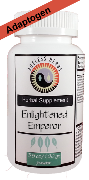 Enlightened Emperor - Herbal Formula - Stress Adaptogen Supplement Powder