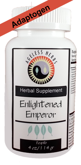 adaptogenic organic herbal formula