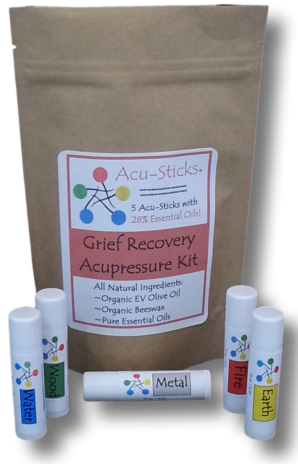 grief essential oils-acupressure DIY kit