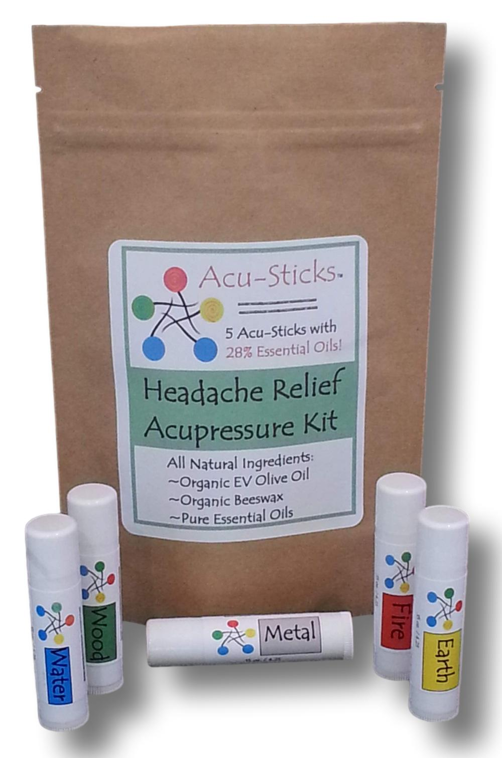 headache essential oils acupressure remedy