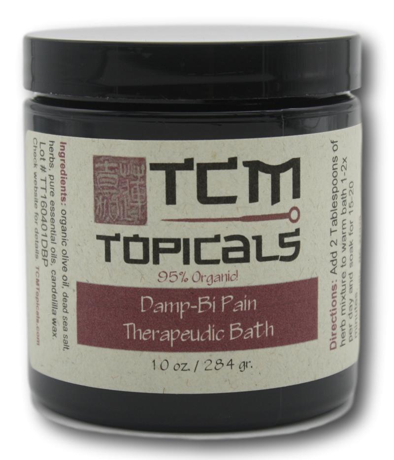 damp bi foot soak with essential oils