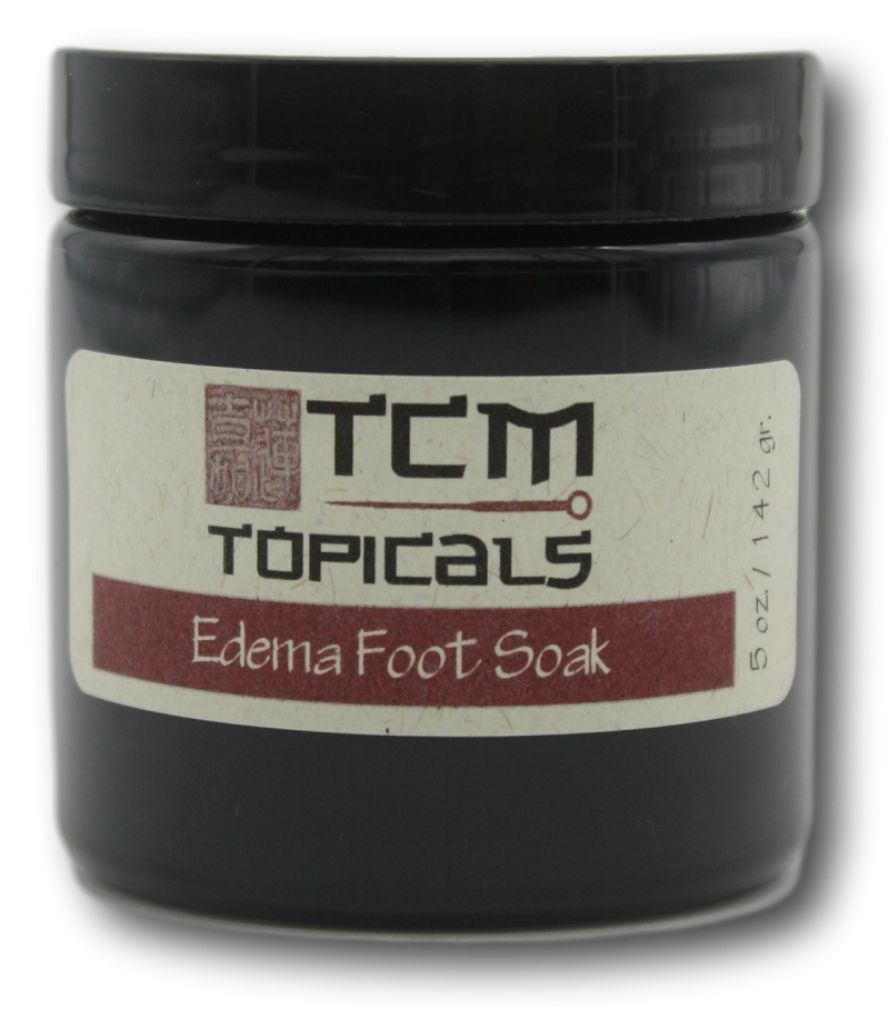 edema foot soak with essential oils