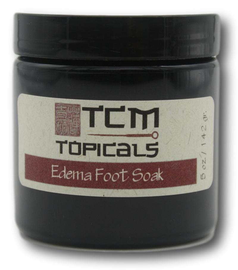 edema essential oils foot soak