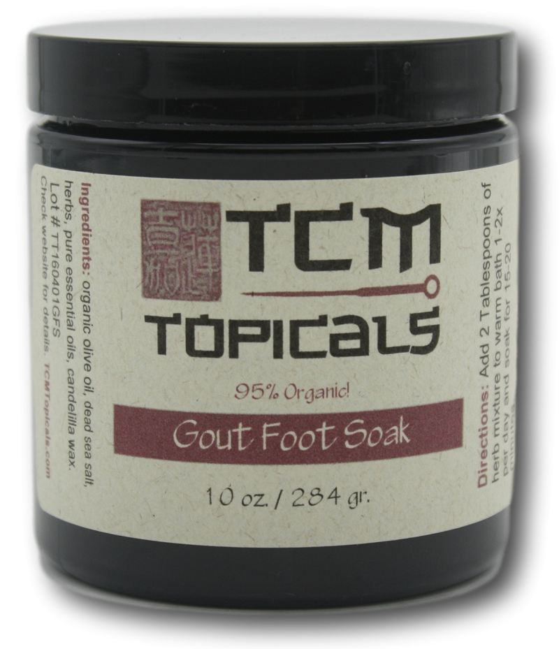 gout foot pain soak with essential oils