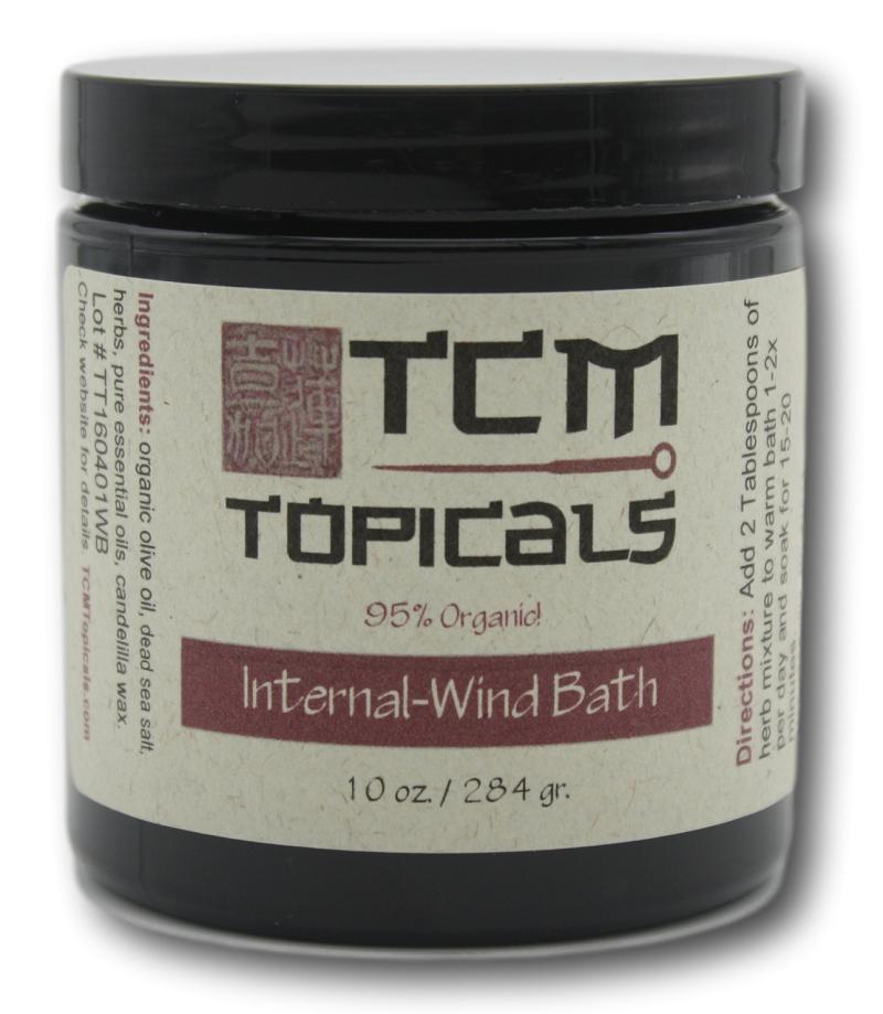 internal wind essential oils foot bath