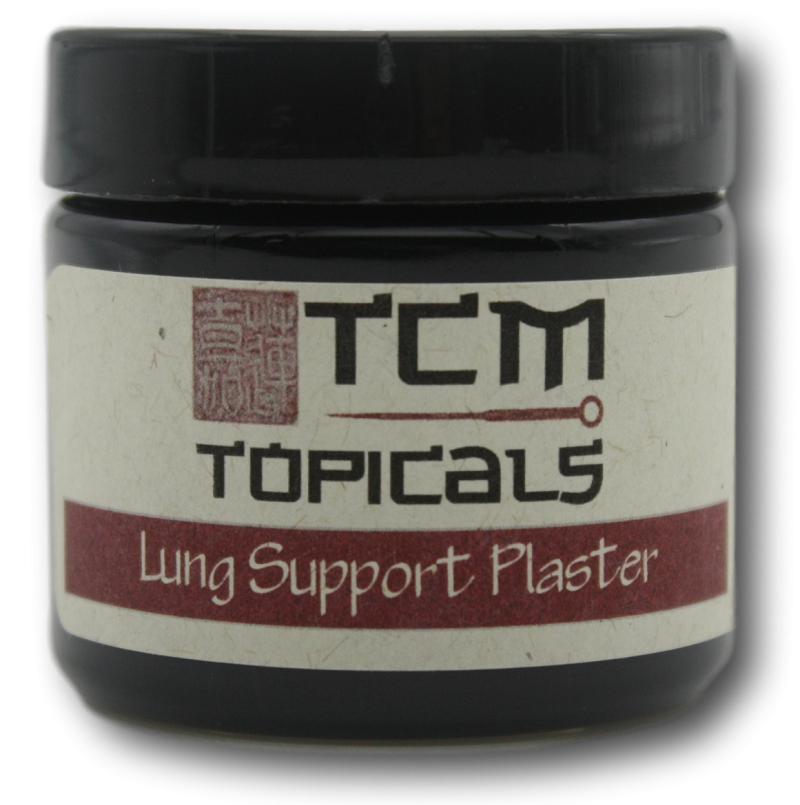 lung support topical plaster with essential oils