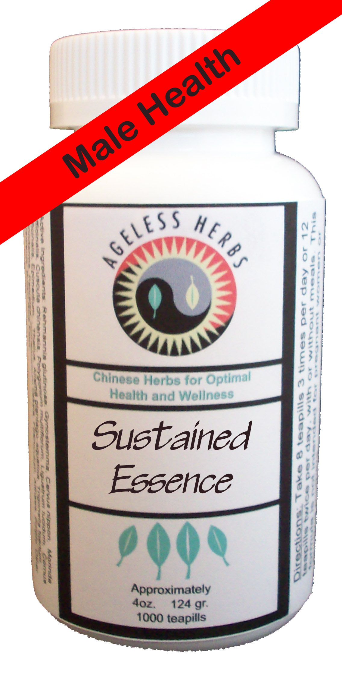 ageless male sexual health herbal supplement
