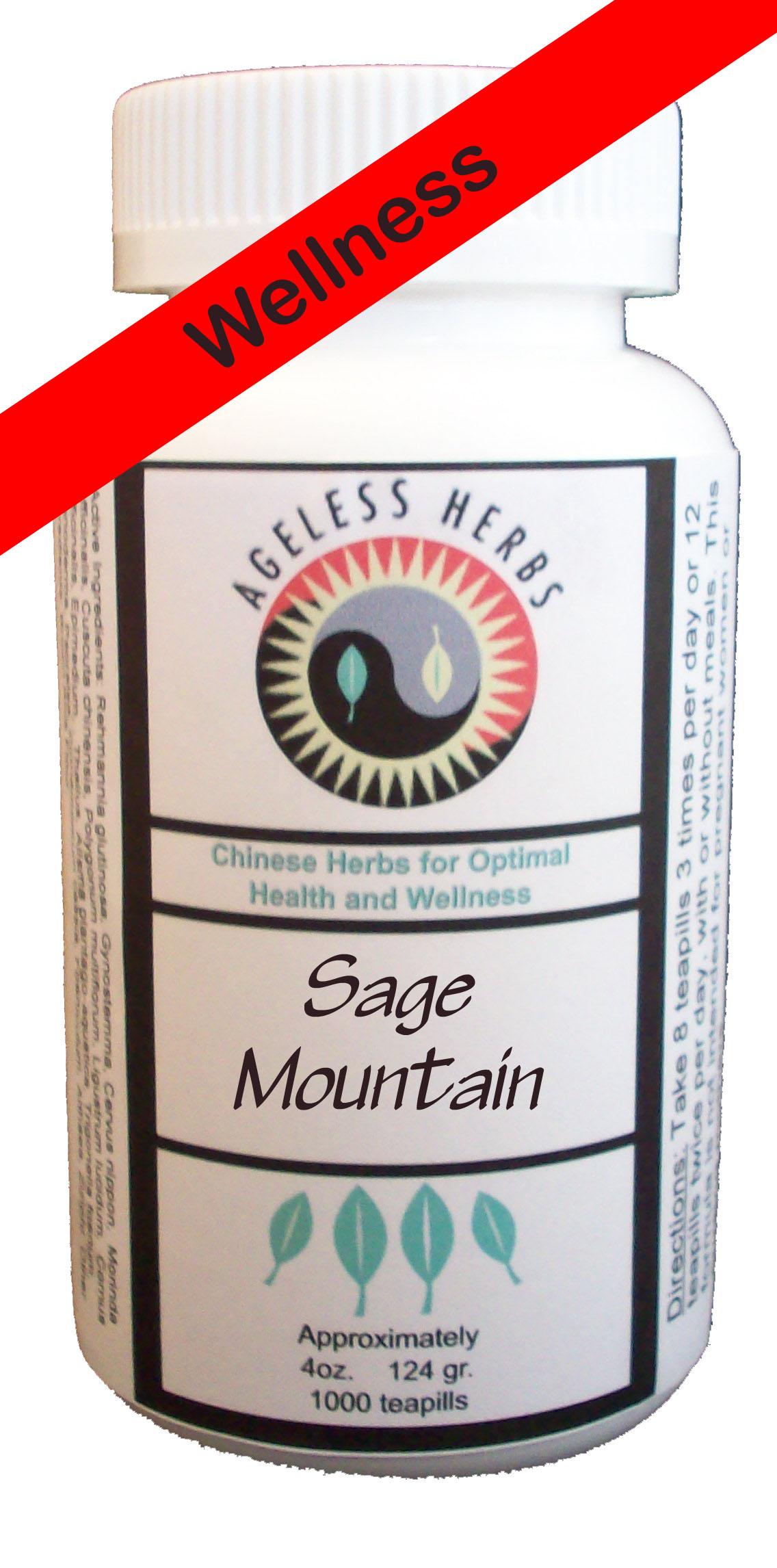 Longevity-Wellness organic herb formula
