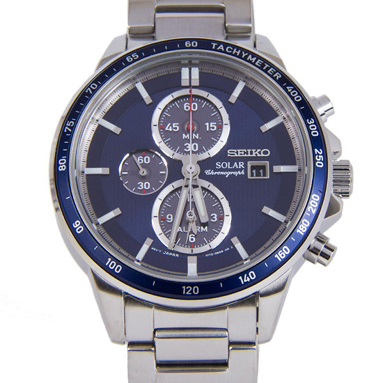 SEIKO SOLAR CHRONOGRAPH WATCH SSC431P1