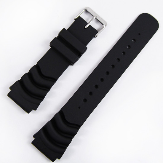 22mm seiko rubber bracelet