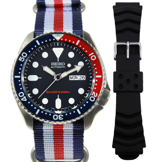 Seiko SKX009K Automatic Mens Watch