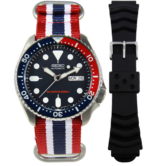 SKX009K Seiko Scuba Divers Watch