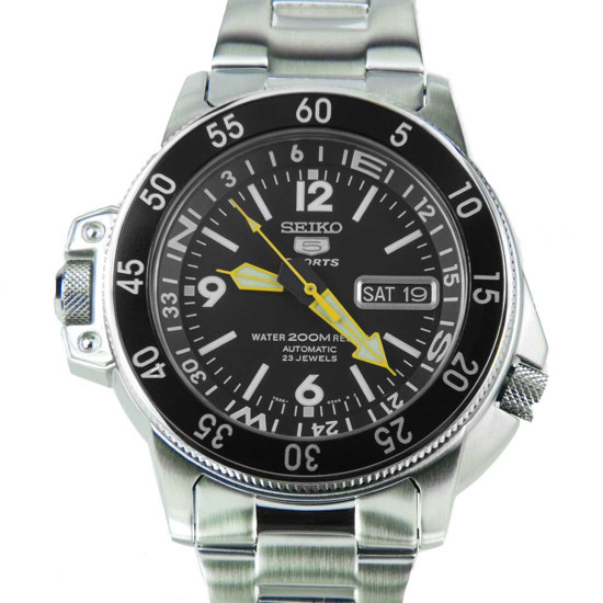 Seiko SKZ211K1 Sports Mens Watch
