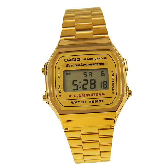 Casio A168WG-9WDF retro Watch