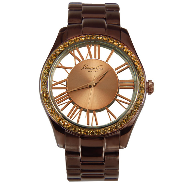 Kenneth Cole KC4859 Transparent Brown Ladies Watch