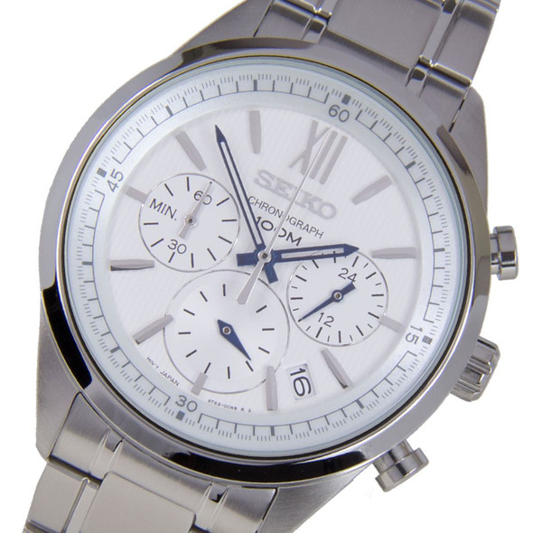 Seiko Chronograph Mens Sports Watch SSB153P1 SSB153