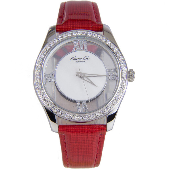 Kenneth Cole Quartz Transparent Dial Analog Dress Watch KC2873