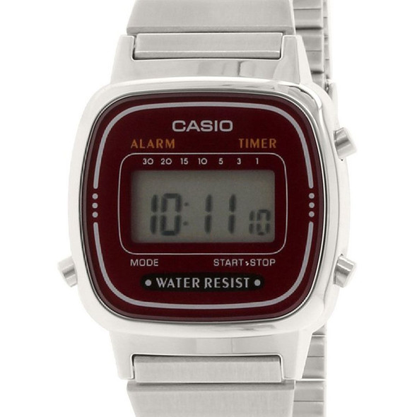 Casio Quartz Retro Digital Ladies Watch LA670WA-4D LA670WA-4 LA670WA