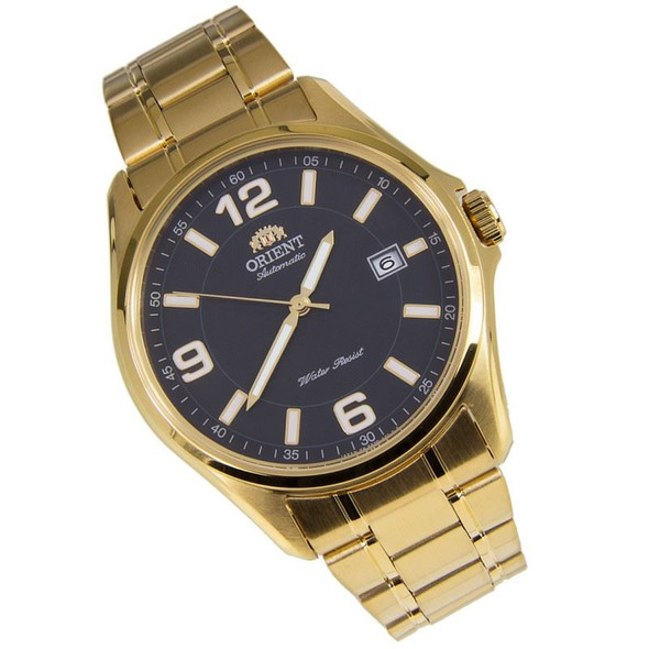 Orient Automatic Gold Stainless Steel Mens Dress Watch ER2D00BB