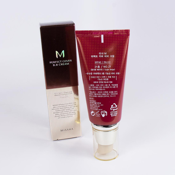8806333353729 Missha BB Cream Perfect Cover #21