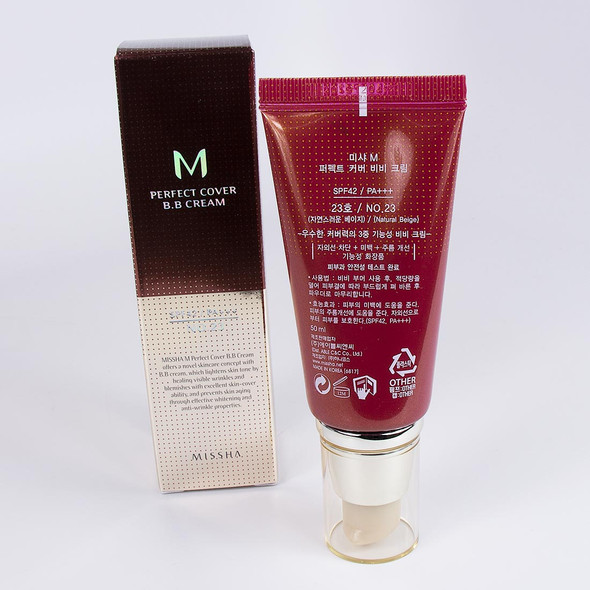8806333353736 Missha BB Cream Perfect Cover # 23 Natural Beige