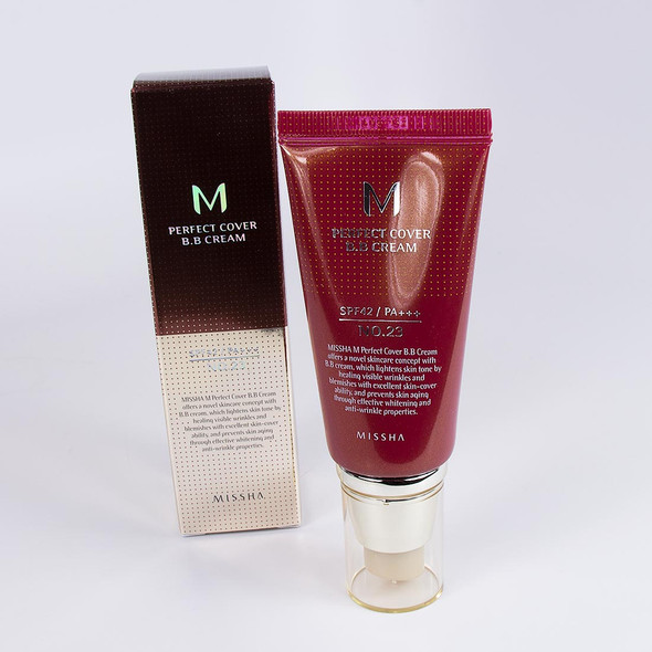 MISSHA PERFECT COVER BB CREAM SPF42 PA+++ NO. 23 NATURAL BEIGE 8806333353736