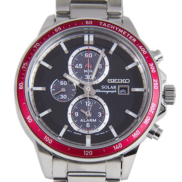 SSC433P1 SEIKO SOLAR CHRONOGRAPH WATCH