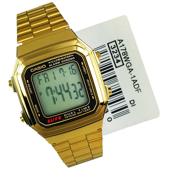 Casio Watch A178WGA-1ADF