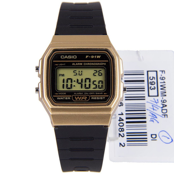 Casio Digital Mens Watch F-91WM-9ADF F-91WM-9A