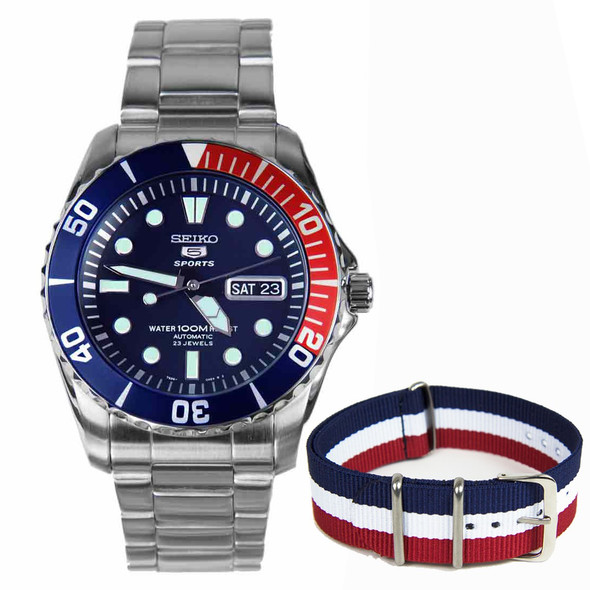 SNZF15K Seiko 5 Sports Automatic Watch