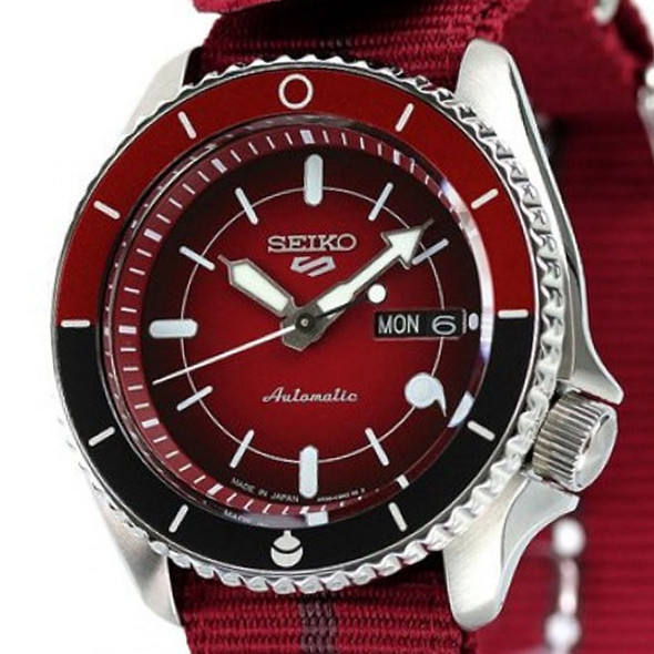 SRPF67K Seiko 5 Sports Naruto Watch
