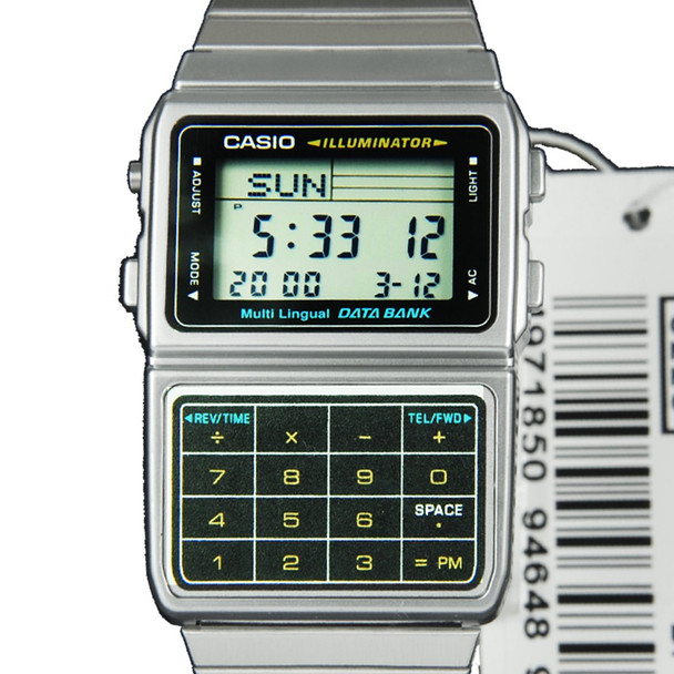 Casio Data Bank Watch DBC-611-1D