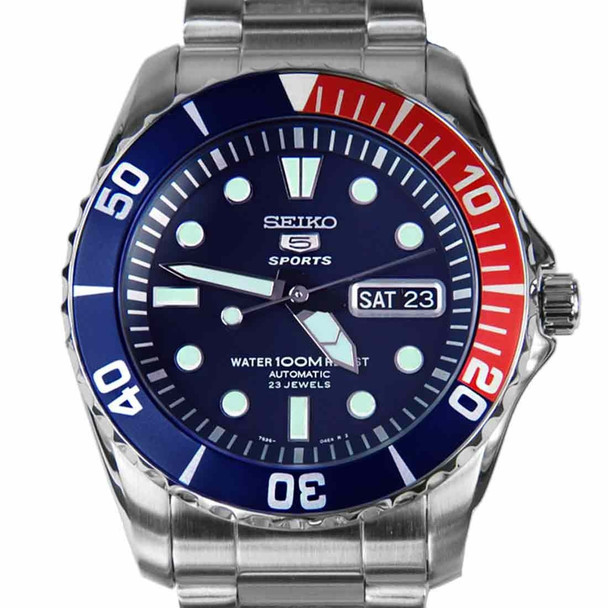Seiko 5 SNZF15K1 Sports Automatic Mens Diving Watch SNZF15